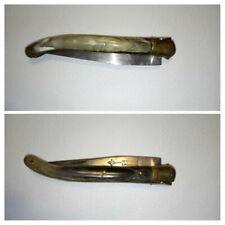 Couteau Ancien Laguiole G.David. 12cm/Lame Acier au Carbone