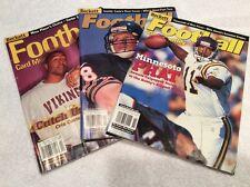 THREE (3) 2000 Beckett Price Guide Lot Football-Moss, Carter, Culpepper, McNown