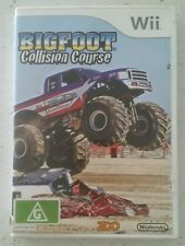 Bigfoot Collision Course - Monster Truck Nintendo Wii / Wii U Game - Pal - Rare!