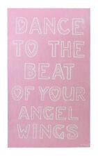 65 X 36cm Splosh Dance Angel Wings Vintage Wooden Sign Wall Art Gift Idea
