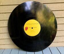"Super Rare 1982 Rolling Stones THINK BIG NYC HUGE 34"" Vinyl Display Record LP"