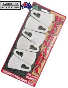 6X Weedwakka Multi Cut Replacement Blades Brushcutter Nylon Weed Wakka