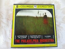 """Debussy Afternoon of A Fawn, La Mer & Ravel Daphnis 7"""" Reel to Reel Tape 7 1/2"""
