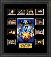 Disney Snow White & the Seven Dwarfs 1937 Framed 35mm Film Cell Memorabilia