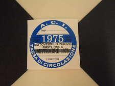 Imposta ITALIANO DISCO 1975-FIAT 500 600 126 LANCIA BETA GIULIETTA ALFA GTV6 ABARTH