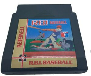 R.B.I. Baseball Tengen -  (NES 1991) CLEAN & TESTED Free Shp
