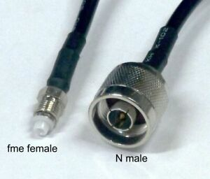Extension cable 10m fme female to N male for mobile broadband antenna