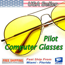 Pilot Computer Glasses - Blue Filter and Blocks 100% UV