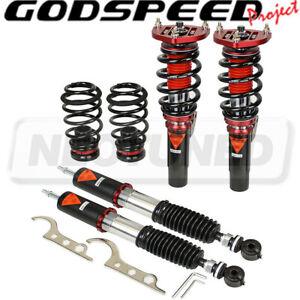 For Volkswagen Passat B6 06-10 Godspeed MMX3700 MAXX Coilovers Camber Plate Kit