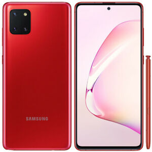 Samsung Galaxy Note 10 Lite - SM-N770F - 128GB - Red - Claro - A Stock Excellent