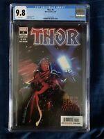 Thor 5 CGC 9.8 Black Winter Cates 2020