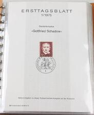 Berlin 1975/90 Ersttagsblätter komplett in 3 Alben, hoher Katalogwert
