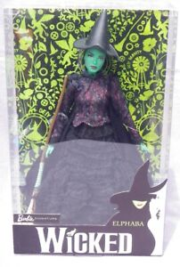 Barbie Elphaba Wicked Witch Of The West Magician D'OZ Mattel FJH60 Doll NRFB