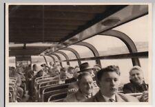 (F24522) Orig. Foto Amsterdam, Personen i.e. Passagierboot 1960