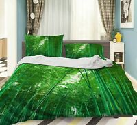 3D Bamboo Forest ZHUA3513 Bed Pillowcases Quilt Duvet Cover Set Queen King Zoe