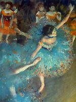EDGAR DEGAS DANCER OLD ART PAINTING POSTER ART 687OMLV