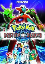 Pokemon - Destiny Deoxys (DVD, 2012) New