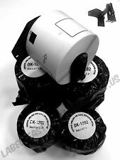 8 Rolls Labels123 Brand Fits Brother Dk 1202 P Touch Ql700 Ql500 Free Cartridge
