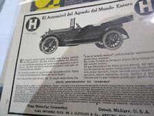 Puerto Rico vintage Ad/Hupmobile