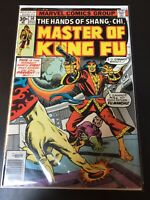 Master Of Kung Fu #50 The Hands Of Shang Chi Marvel Comics Combined Shipping