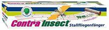 Etisso Contra Insect Stallfliegenfänger 10 x 0,25 m Fliegenfalle Insektizidfrei!