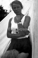 WW2 Picture Photo Member Young women Bund Deutscher Mädel League German BDM 1071