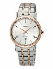 Seiko Quarz-Armbanduhren aus Silber