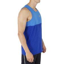 Men's Nike Dri-Fit Dri-Blend Running Tank Top - Large (blue)