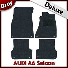 Audi A6 C7 2011 onwards Tailored LUXURY 1300g Carpet Car Floor Mats GREY