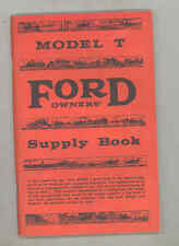 Ford Model T Owner's Supply Book Dan Post 1959 Automobile Book b2867