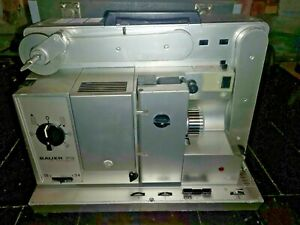 TOP QUALITY16mm film projector  Bauer P6 AUTOMATIC IN ORIGINAL CASE L@@K  S
