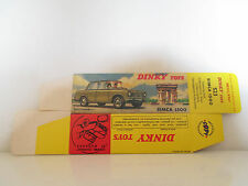 DINKY TOYS 523 SIMCA 1500 BOITE COPIE VIDE EMPTY COPY BOX  HIGHT QUALITY L@@K