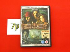 Pirates Of The Caribbean Dead Man's Chest (2 DISC DVD SET) Special Edition ✔️VGC