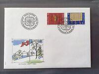 SWITZERLAND FDC 1982 HELVETIA 3.6.1982 EUROPA CEPT