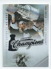 Dan Boyle 2010-11 Certified Champions Insert Card