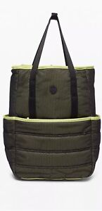 NWT Sold Out Lululemon Dash All Day Backpack~Tote Bag Perfect Size Beautiful !!