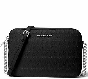 Michael Kors Bag/Shoulder Bag Jet Set Item LG Ew Crossbody Black