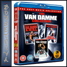 THE VAN DAMME COLLECTION - 3 FILM COLLECTION *BRAND NEW BLURAY *