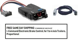 5535 Draw Tite Brake control with Wiring Harness 3070 FOR 2006-2019 Honda