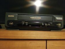 Samtron Sv-D91 Vcr Vhs Player Recorder w/ Rca cables - Tested and Works