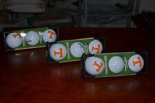 LinksWalker University of Tennessee 12 Golf Balls with 4 CaddiClips! New in Pkg