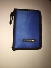 Blue Nintendo DS Folio Case -