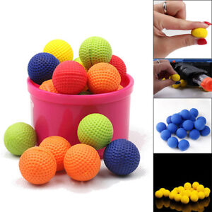 100x Colorful Balls For Rival Zeus Apollo Refill Toys Compatible Gun Bullet