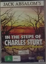 In The Steps Of Charles Sturt ~ Jack Absalom DVD R0 - all regions