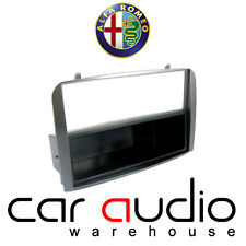 Autoleads Alfa Romeo 147 2001-2005 Car Stereo Single Din SILVER Fascia Panel