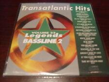 LEGENDS KARAOKE CD+G BASSLINE VOL 22 TRANSATLANTIC HITS NEW
