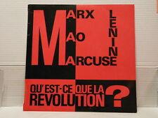 MARCEL CLEMENT Marx Mao Marcuse Qu'est ce que la révolution? Conférence LPL4682