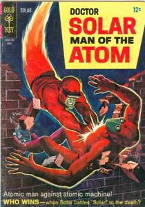 Doctor Solar, Man of the Atom #19 April 1967 VG