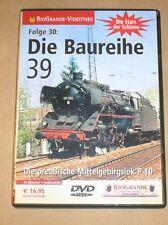 RARE DVD DOC TRAIN EN ALLEMAND / DIE BAUREIHE 39 / TRES BON ETAT