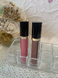 (2)Revlon Super Lustrous Moisturizing Lip Gloss#260 & 210💄 .13oz